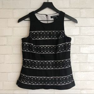 White House Black Market Fitted Tank Top Size 2